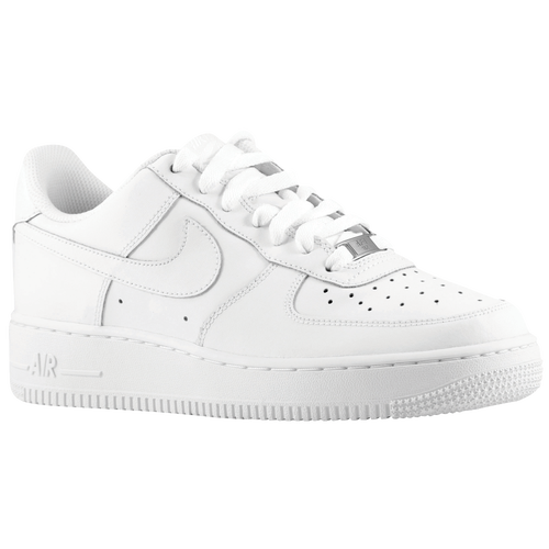 Nike Air Force 1 Low 06 - Boys' Grade School - Basketball - Shoes - White/ White