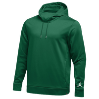 Jordan Team 360 Fleece Hoodie - Men's - Dark Green / Dark Green