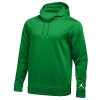 Jordan Team 360 Fleece Hoodie - Men's - Green / White