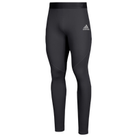 adidas Team Alphaskin Long Tights - Men's - All Black / Black