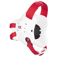 Cliff Keen Fusion Headgear - Men's - White / Red