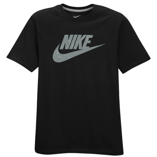 Nike Graphic T-Shirt - Men's Casual - Black/Grey/White 66517001