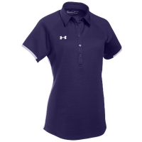 Under Armour Team Rival Polo - Women's - Purple / White