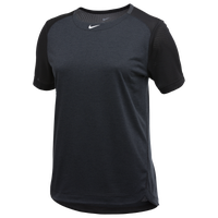 Nike Team Dry Practice S/S Top - Women's - Black