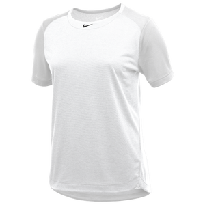 Nike Team Dry Practice S/S Top - Women's - White/Anthracite/Black