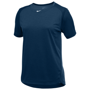 Nike Team Dry Practice S/S Top - Women's - Navy/Anthracite/White