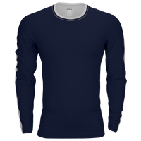 Eastbay EVAPOR Premium L/S Loose Fit T-Shirt - Men's - Navy