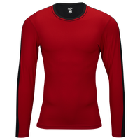 Eastbay EVAPOR Premium L/S Compression T-Shirt - Men's - Red / Black