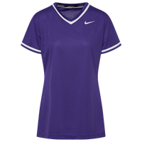 Nike Team Select V-Neck Jersey - Women's - Purple