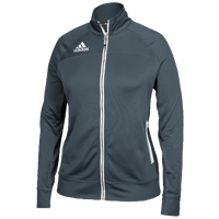 adidas Team Utility Jacket - Women's - Grey / White