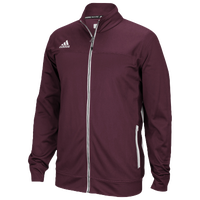 adidas Team Utility Jacket - Men's - Maroon / Maroon