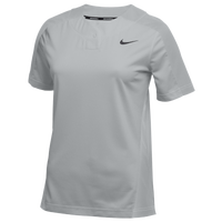 Nike Team Stock Vapor Select 1-Button Jersey - Women's - Grey