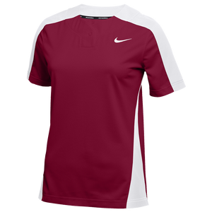 Nike Team Stock Vapor Select 1-Button Jersey - Women's - Cardinal/White/White