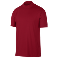 Nike TW Vapor Dry Golf Polo Mock - Men's - Red