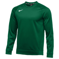 Nike Team Therma Crew - Men's - Dark Green / Dark Green