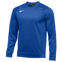 Nike Team Therma Crew - Men's - Blue / Blue
