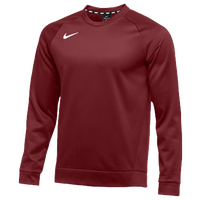 Nike Team Therma Crew - Men's - Cardinal / Cardinal