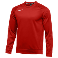 Nike Team Therma Crew - Men's - Red / Red