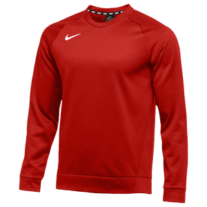 Nike Team Therma Crew - Men's - Scarlet/White