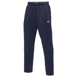Nike Team Therma Pants - Men's - Navy/White