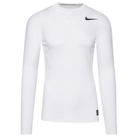 Nike Pro Hyperwarm Compression Mock - Men's - White