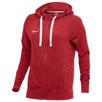 Nike W NK GYM VNTG HOODIE FZ - Women's - Red / Off-White