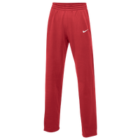 Nike Team Therma Pants - Women's - Red / White