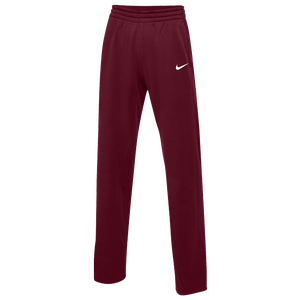 Nike Team Therma Pants - Women's - Dark Maroon/White