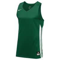 Nike Team Hyperelite Jersey - Men's - Dark Green / White