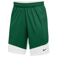 Nike Team Practice Shorts - Men's - Dark Green / White