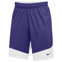 Nike Team Practice Shorts - Men's - Purple / White