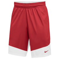 Nike Team Practice Shorts - Men's - Red / White