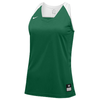 Nike Team Hyperelite Jersey - Women's - Dark Green / White