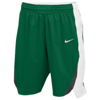 Nike Team Hyperelite Shorts - Women's - Dark Green / White