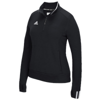 adidas Team Climalite 1/4 Zip - Women's - Black / White