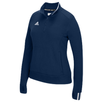 adidas Team Climalite 1/4 Zip - Women's - Navy / White