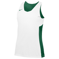 Nike Team Reversible Tank - Women's - Dark Green / White