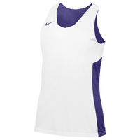 Nike Team Reversible Tank - Women's - Purple / White