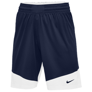 Nike Team Practice Shorts - Women's - Navy/White