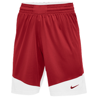 Nike Team Practice Shorts - Women's - Red / White