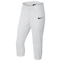 Nike Core Softball 3/4 Pants - Girls' Grade School - White