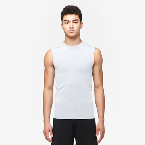 Eastbay EVAPOR Core Sleeveless Compression Top - Men's - White