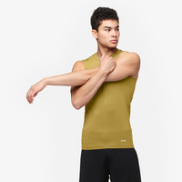 Eastbay EVAPOR Core Sleeveless Compression Top - Men's - Tan / Tan