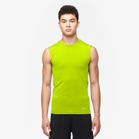 Eastbay EVAPOR Core Sleeveless Compression Top - Men's - Yellow / Yellow