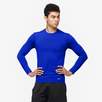 Eastbay EVAPOR Core Long Sleeve Compression Crew - Men's - Blue / Blue
