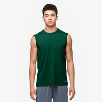 Eastbay EVAPOR Core Performance S/L Crew - Men's - Dark Green / Dark Green