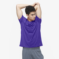 Eastbay EVAPOR Core Performance Training T-Shirt - Men's - Purple / Purple