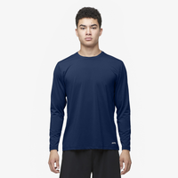 Eastbay EVAPOR Core Performance Training L/S - Men's - Navy / Navy