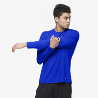 Eastbay EVAPOR Core Performance Training L/S - Men's - Blue / Blue