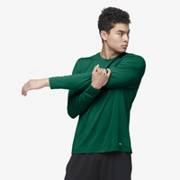Eastbay EVAPOR Core Performance Training L/S - Men's - Dark Green / Dark Green